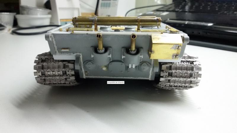 [Terminé] E-100 DRAGON 1/35 avec PE Voyager Model + tourelle KRUPP (par Rhino) + chenilles Friul 20140811