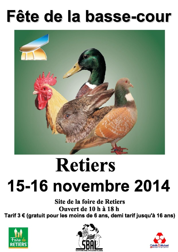 Expo avicole Rennes/Retiers Affich11