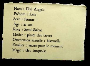 Leia D'al Angelo, pirate des Terres Identi10