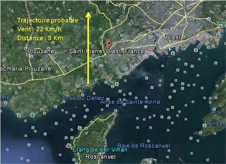 2014: le 07/06 à 3h30 - Boules lumineuses oranges - brest - Finistère (dép.29) Brest10