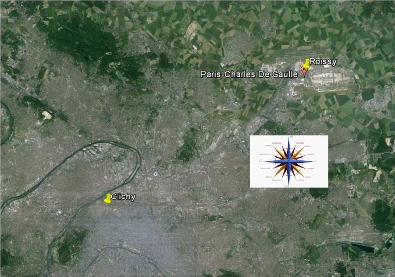 2014: le 16/06 à 2 h - Lumière étrange dans le ciel  - Clichy - Hauts-de-Seine (dép.92) Clichy10
