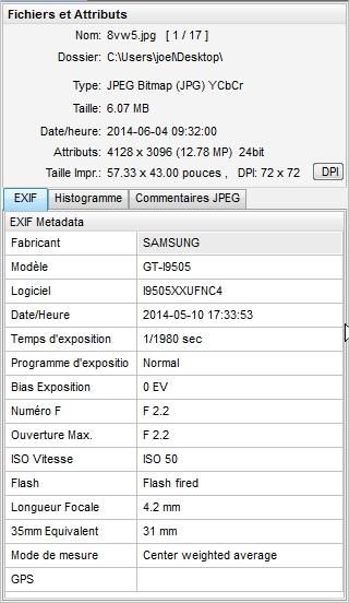 2014: le 10/05 à 16h45 - Un phénomène ovni troublant - Die-Drôme (dép.26) Exif10