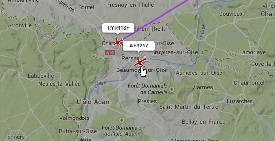 2014: le 31/10 à 6H45 (environ) - Un phénomène ovni surprenant -  Ovnis à Beaumont sur Oise - Val d'Oise (dép.95) Flight12