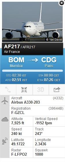 2014: le 31/10 à 6H45 (environ) - Un phénomène ovni surprenant -  Ovnis à Beaumont sur Oise - Val d'Oise (dép.95) Flight13