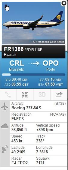 2014: le 31/10 à 6H45 (environ) - Un phénomène ovni surprenant -  Ovnis à Beaumont sur Oise - Val d'Oise (dép.95) Flight14