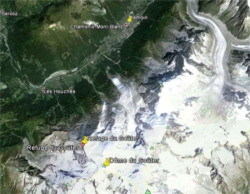2014: le 04/09 à vers 10 heures du matin - Ovni en Forme de triangle - Chamonix - Haute-Savoie (dép.74) Google12