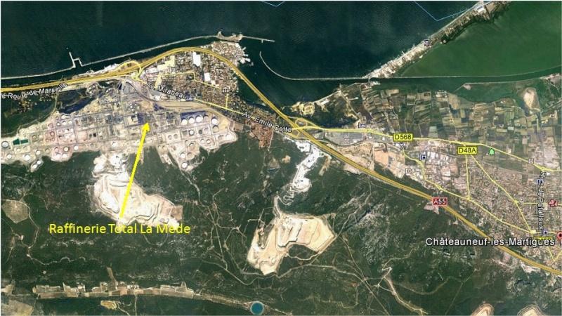Observation Ovni août 2014: Le 06/08 vers 12h00 – Losange gris clair – La Mède – Bouches-du-Rhône (dép.13) Lamyde10