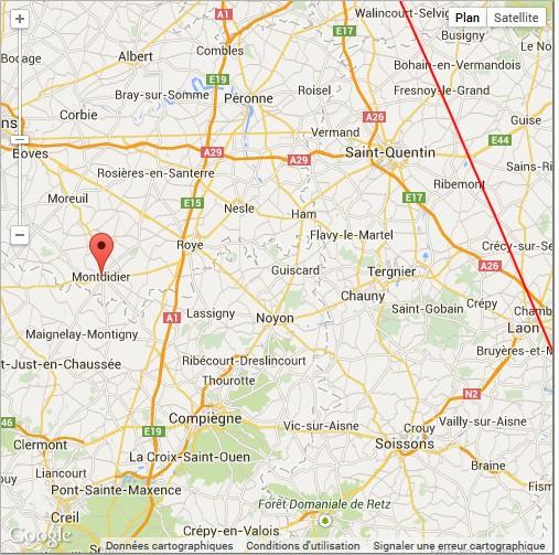 2014 : Début décembre. Phénomènes lumineux observés en Haute Somme Montdi11