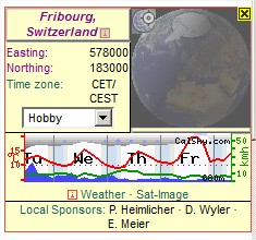 2014: le 05/07 à 21h01 - objet lumineux passant devant la lune - Fribourg, Suisse -  Prtscr21