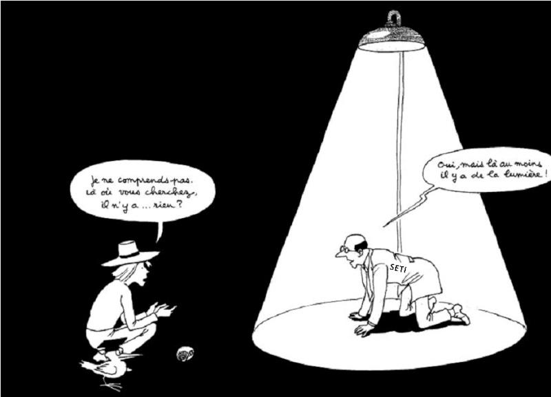Le SETI se défend face aux accusations, lors d'une conférence  Seti10