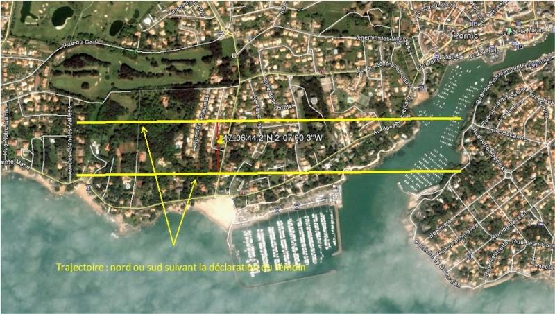 2013: le 23/08 à 22h45/23h00 - Disques lumineux - Pornic - Loire-Atlantique (dép.44) Trajec10