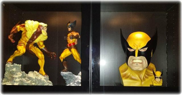 Wolverine Bronze version peinte 20141219