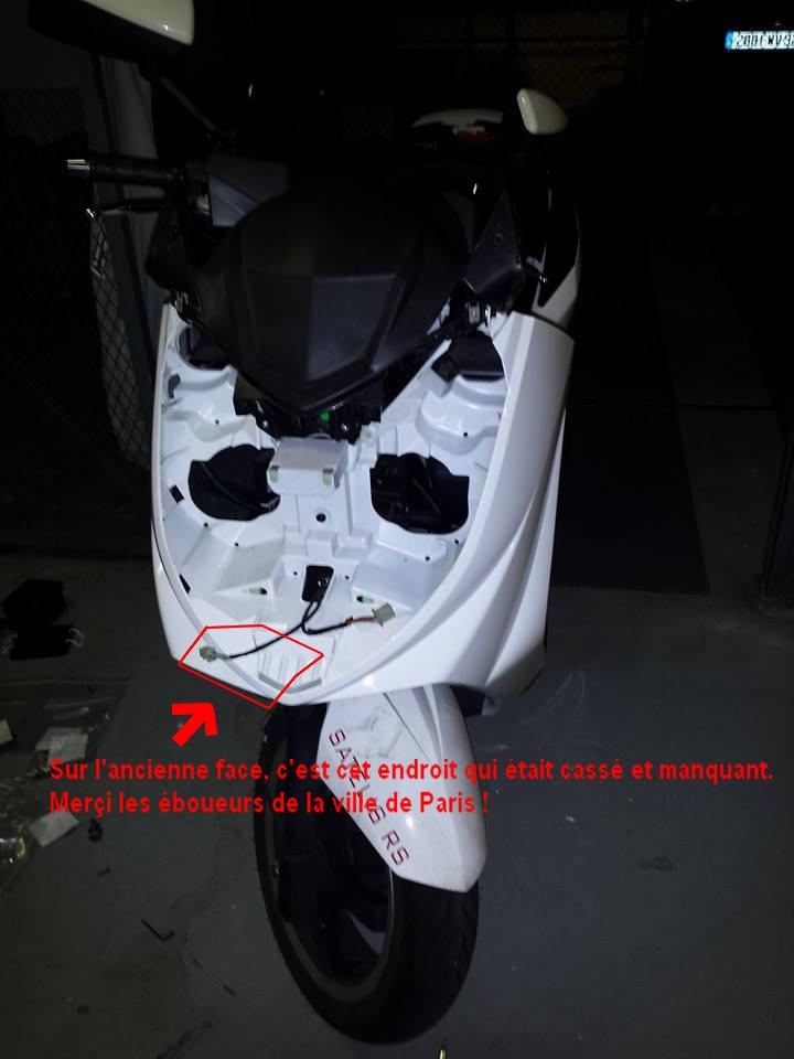 Face avant RS blanc 10329311