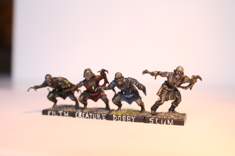 undead - MasterSpark's Undead warband Ghouls12
