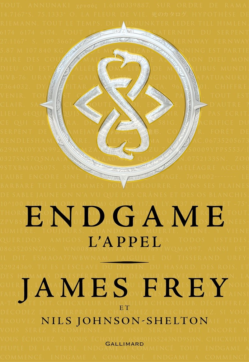 FREY James & JOHNSON SHELTON Nils - Endgame: L'appel Endgam10