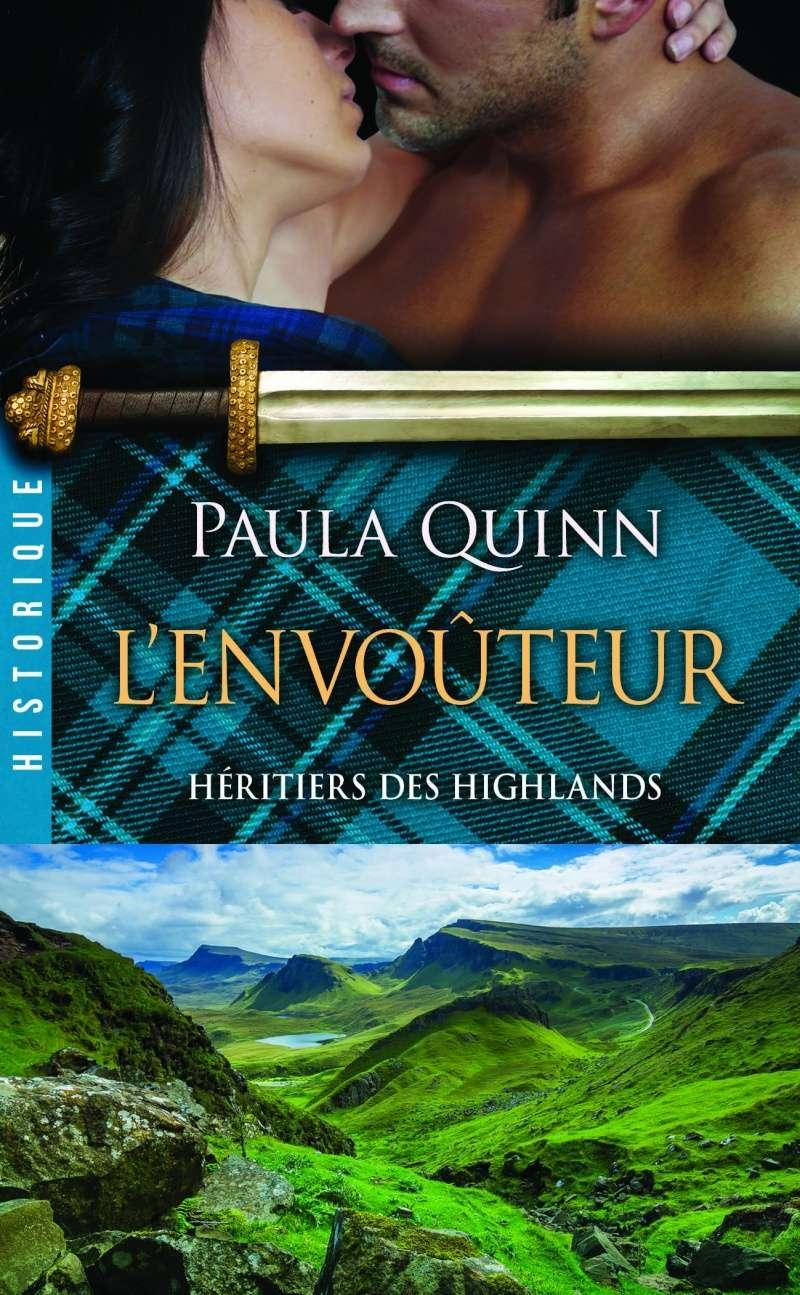 QUINN Paula - LES HERITIERS DES HIGHLANDS - Tome 3 : L'envoûteur Heriti10