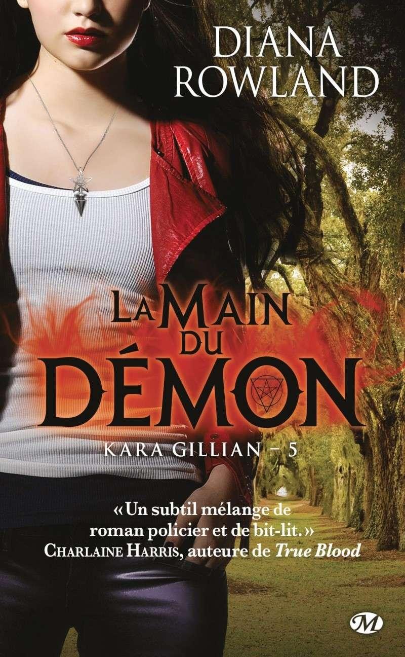 ROWLAND Diana - KARA GILLIAN - Tome 5 : La Main du Démon Kara-g10