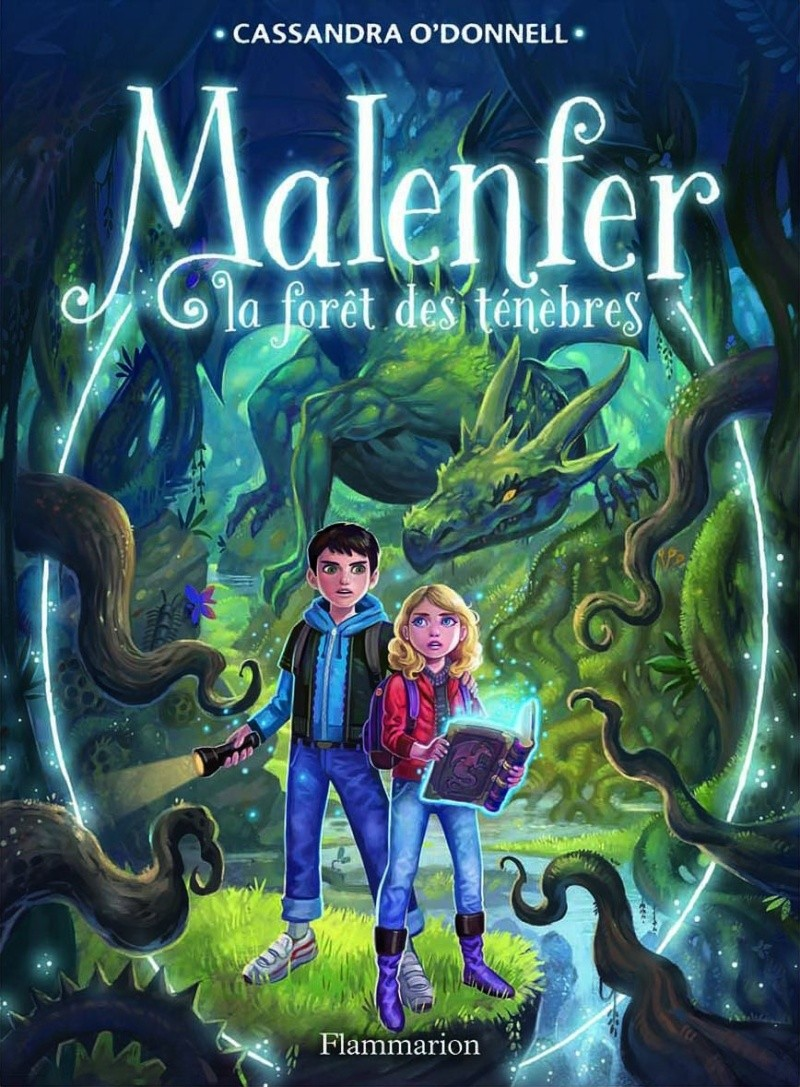 O'DONNELL Cassandra - MALENFER - Tome 1 : La Foret des Ténèbres  Malenf10