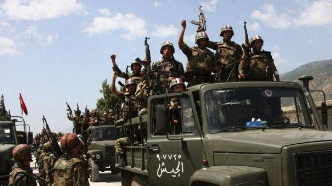 REACTIONS PREMIERES SUR LA LIBERATION DE KESSAB Syrian10
