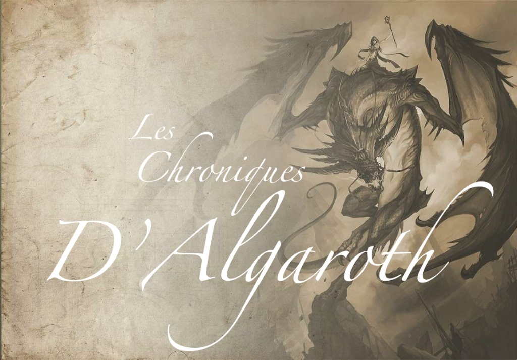 Les Chroniques d'Algaroth