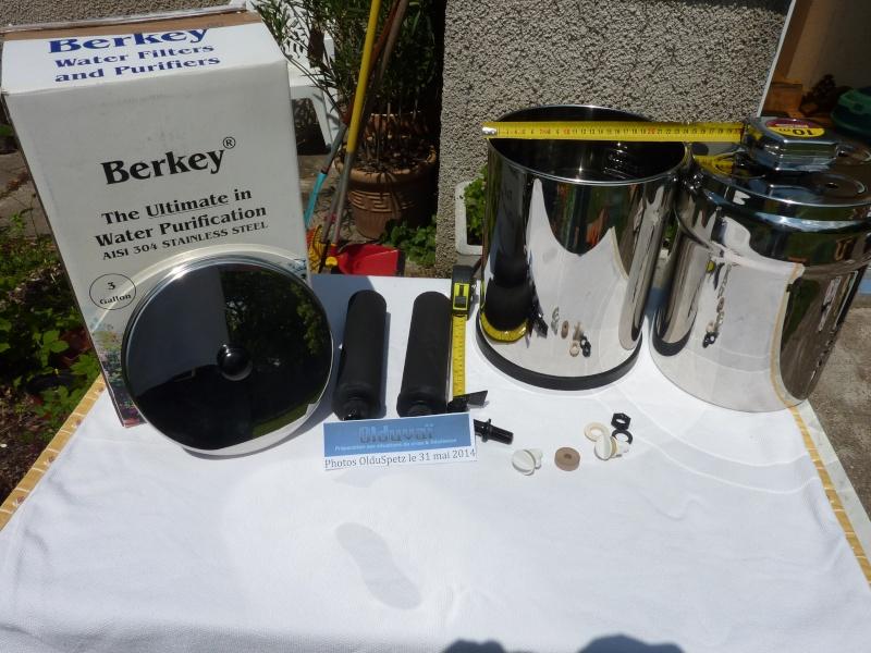 RETEX achat et mise en service d'un Filtre BERKEY P1040517