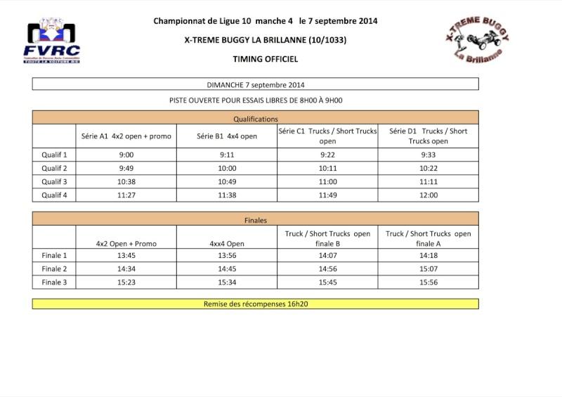 6ème manche de Ligue 10 à La Brillanne le 7 septembre 2014 - Page 2 Timing11