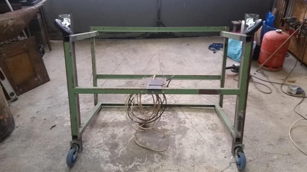 Table de soudure et table de découpe plasma 2 en 1 20190135