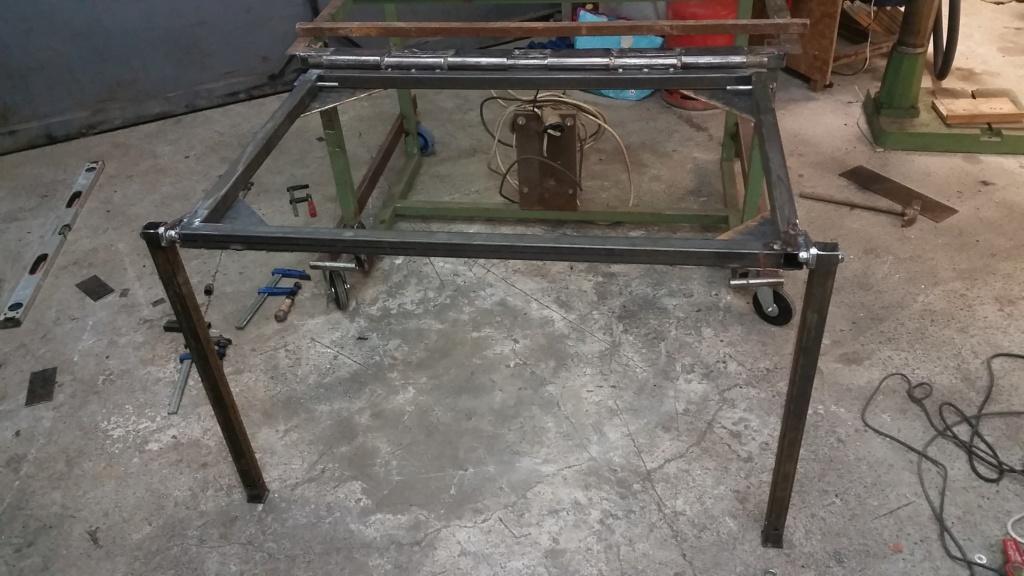 Table de soudure et table de découpe plasma 2 en 1 20190222