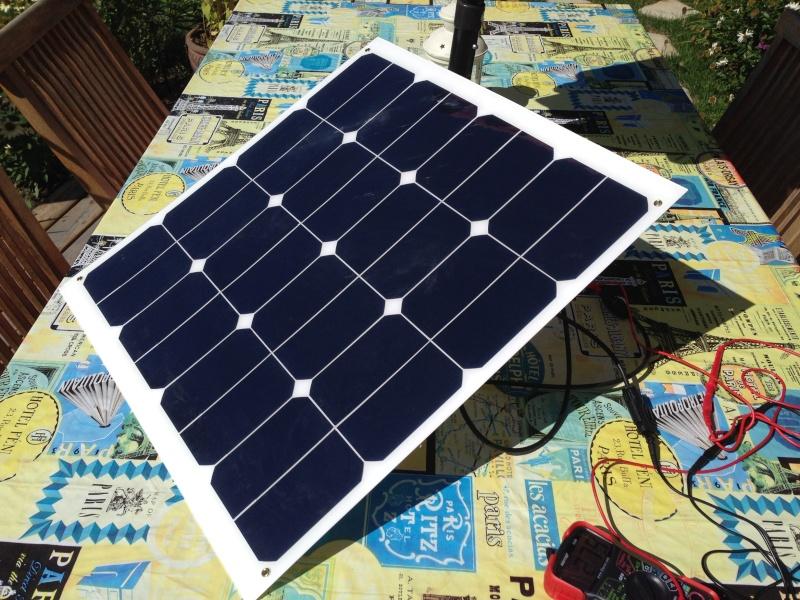 Fabrication d'un kit de panneaux solaires portatifs à partir de panneaux semi-souples Pannea11