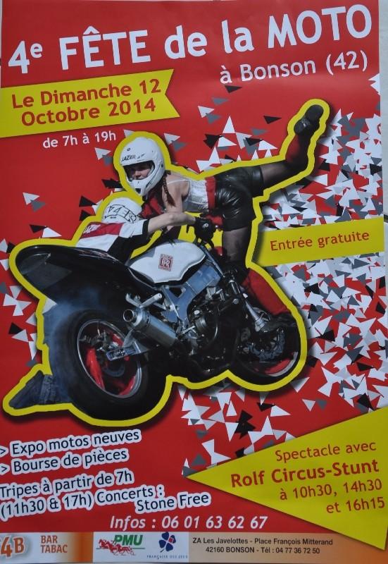 MANIFESTATION - Fete de la moto Bonson 42 4eme-f10