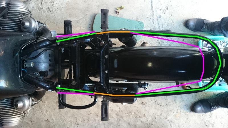 R100RS Café Racer Projet10