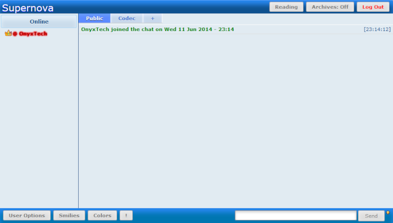 "Supernova 3.0.0 Update ""Beginning"" Chat10"