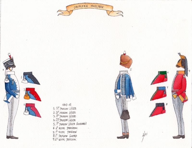 les planches du colonel lepic Cavale12