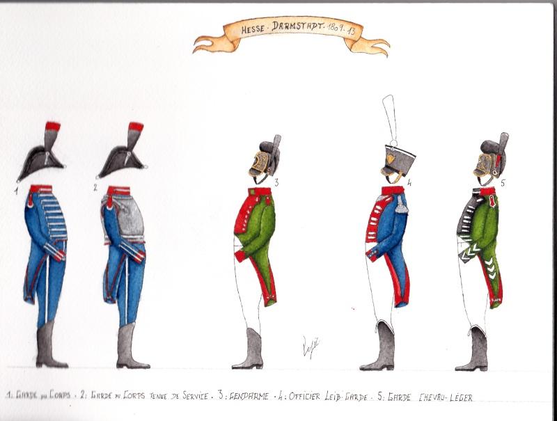 les planches du colonel lepic Darmst10