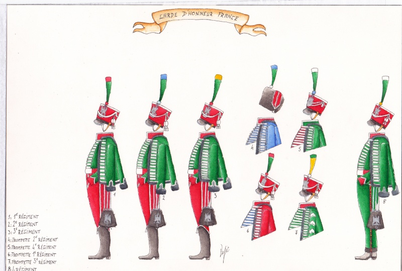 les planches du colonel lepic Garde_11