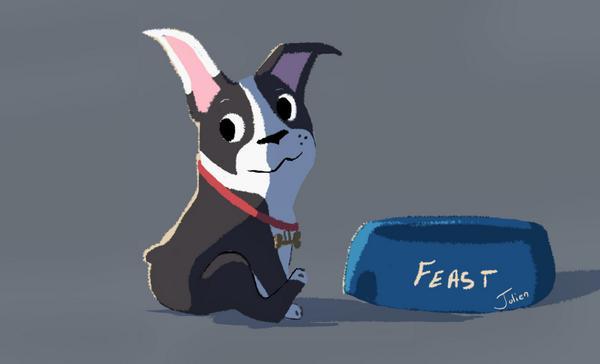 [Cartoon Walt Disney] Le Festin (2014) Feast10
