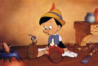 Décès de Richard Percy Jones (1927-2014), la voix originale de Pinocchio en 1940 Pinocc10