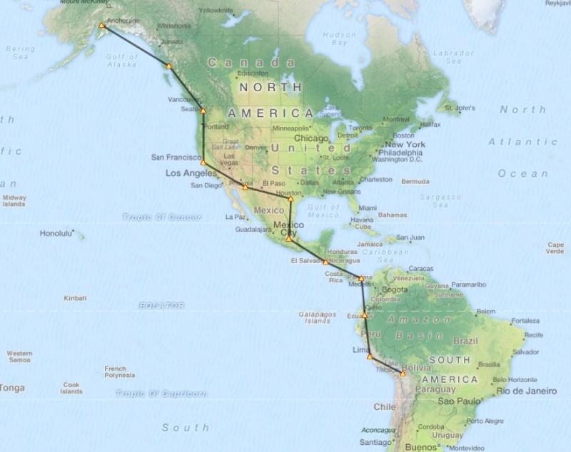 Tour du monde en liner Captur47