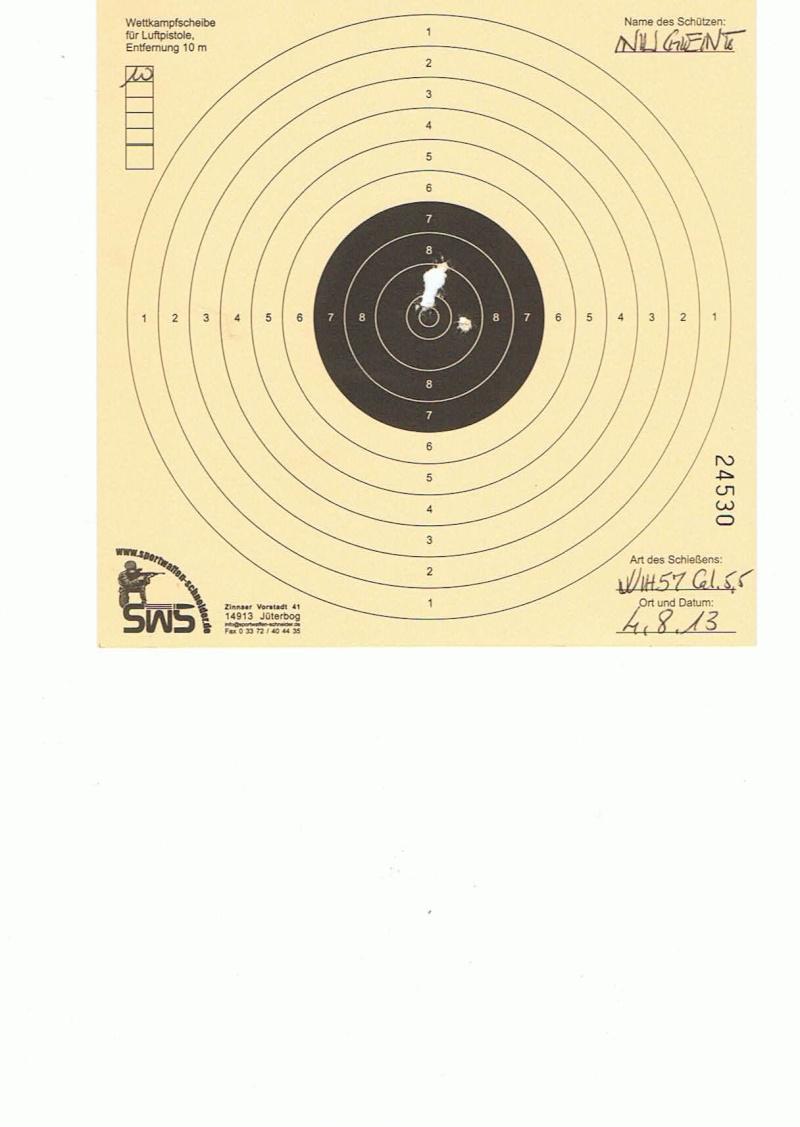 """Test Plombs H&N """"Field Target Trophy Green"""" sur HW 57 Cal.5,5  7,5 Joules   10m10"""