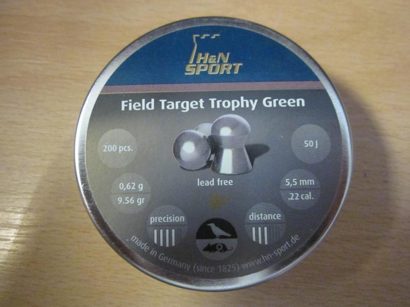 """Test Plombs H&N """"Field Target Trophy Green"""" sur HW 57 Cal.5,5  7,5 Joules   Img_0611"""