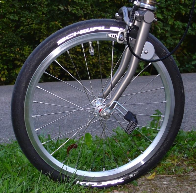 Transformer son Brompton en vélo de course - Page 3 Brompt12