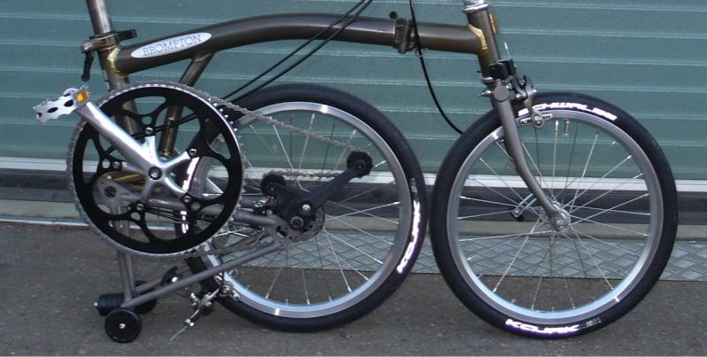 Transformer son Brompton en vélo de course - Page 3 Brompt13