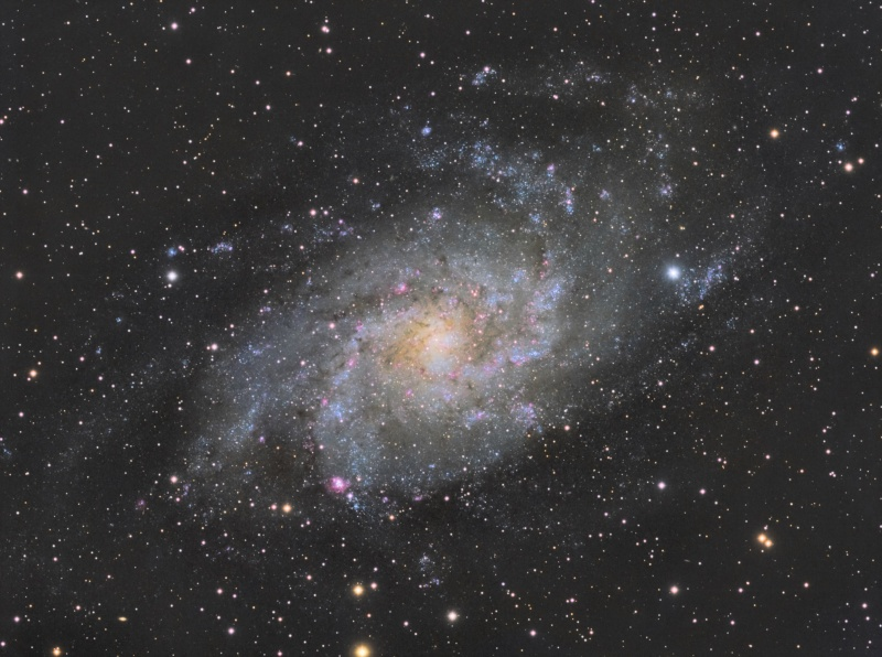 M33 La Galaxie du Triangle M33_fu10