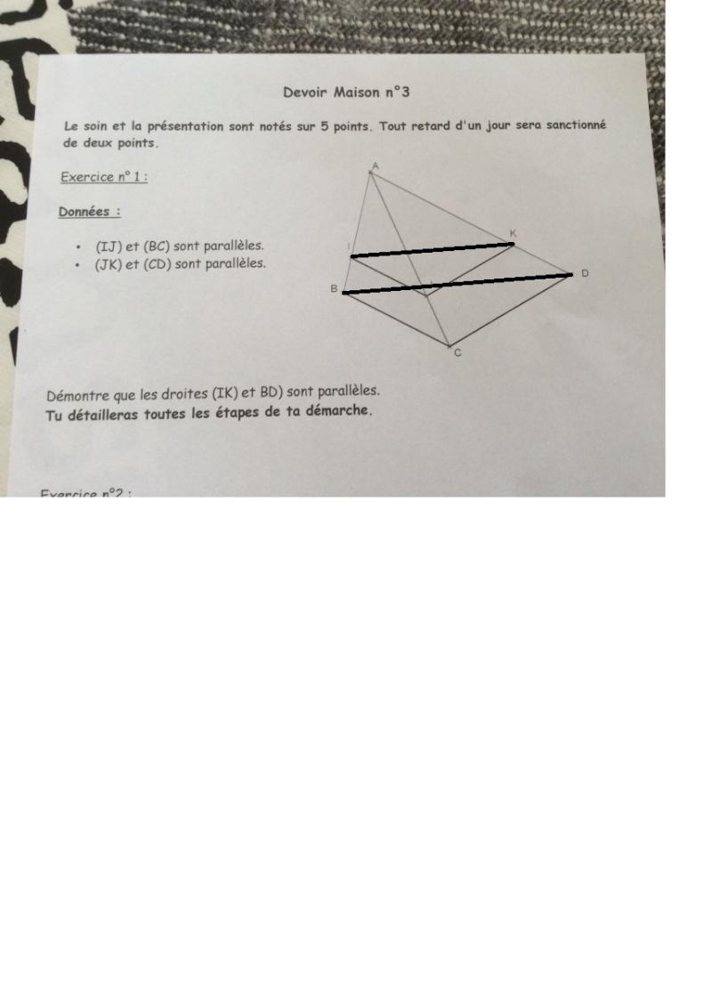 AIDE (Devoir Maison Math 3è) Parall10