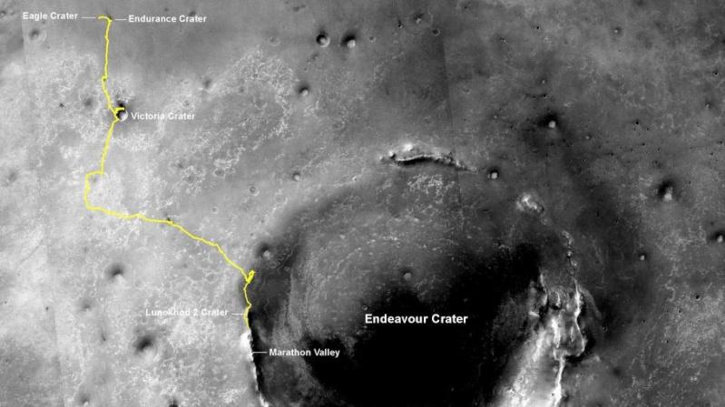Le rover Opportunity photographié à la surface de Mars 44793910