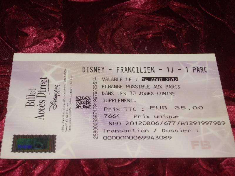 Questions par rapport aux billets francilien été. Imgp1713