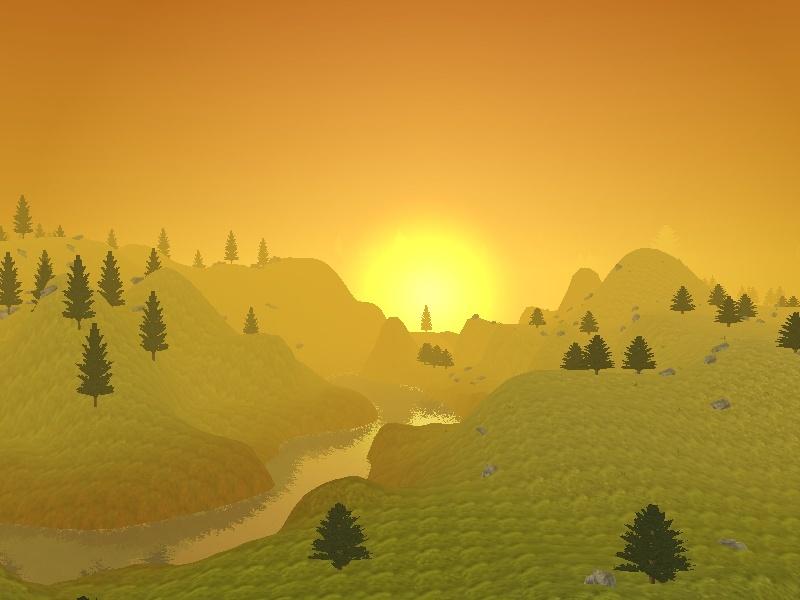 Screenshots of the Land Screen16