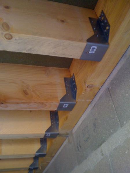 Pan sous-toit (madriers horizontaux) Planch10