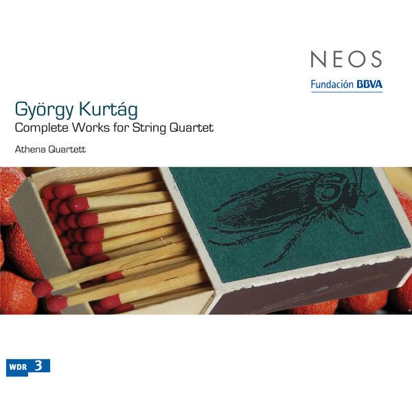Kurtág-Complete Works for String Quartet (NEOS) K10