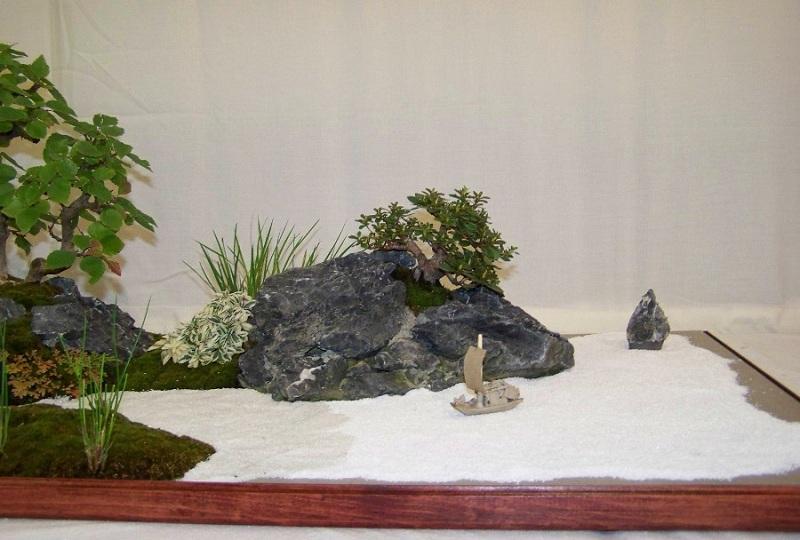 Tray landscape (giant saikei) Bon2-310
